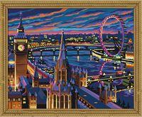 "Картина по номерам ""Ночной Лондон"" (400х500 мм)"