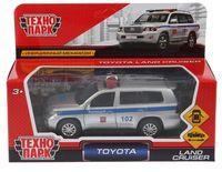 """Модель машины """"Toyota Land Cruiser. Полиция"""" (арт. CRUISER-P)"""
