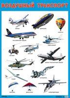 Развивающие плакаты. Воздушный транспорт
