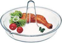 Форма для запекания курицы стеклянная (260х120 мм)