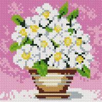 """Алмазная вышивка-мозаика """"Полевые цветы"""""""
