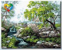 """Картина по номерам """"Горная река"""" (400x500 мм; арт. HB4050204)"""