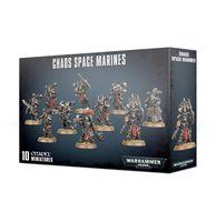 """Набор миниатюр """"Warhammer 40.000. Chaos Space Marines"""" (43-06)"""
