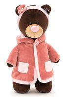 """Мягкая игрушка """"Медведь Milk стоячая в пальто"""" (30 см)"""