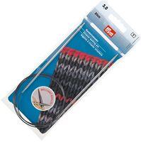 Спицы круговые для вязания (латунь; 3 мм; 80 см)
