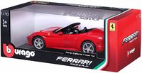 """Модель машины """"Bburago. Ferrari California T. Кабриолет"""" (масштаб: 1/18)"""