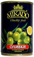 "Оливки ""Mikado. С лимоном"" (300 мл)"