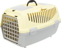 "Переноска для животных ""Traveller Capri II"" (37х34х55 см; серо-желтая)"