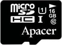 Карта памяти micro SDHC 16Gb Apacer UHS-I (Class 10) без адаптера (AP16GMCSH10U1-RA)