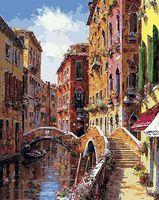 """Картина по номерам """"Мосты и каналы Венеции"""" (400х500 мм)"""