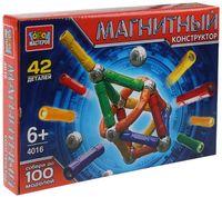 """Конструктор магнитный """"Палочки и шарики"""" (42 детали; арт. DT-4016-R)"""
