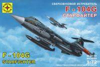 """Сверхзвуковой истребитель """"F-104G Старфайтер"""" (масштаб: 1/72)"""