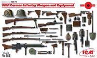 """Аксессуары """"Вооружение и снаряжение Германской пехоты І МВ"""" (масштаб: 1/35)"""