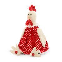 """Мягкая игрушка """"Курочка Даша"""" (30 см)"""