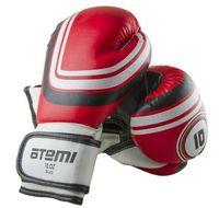 Перчатки боксёрские LTB-16101 (S/M; красные; 10 унций)