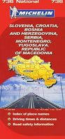 Slovenia, Croatia, Bosnia and Herzegovina, Serbia, Montenegro, Yugoslava: Republic of Makedonia