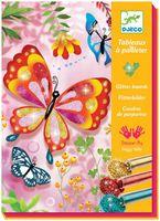 """Набор для рисования """"Блестящие бабочки"""""""