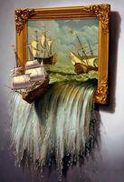 """Папертоль """"Море в картине"""" (200х290 мм)"""
