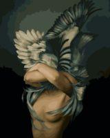 """Картина по номерам """"Мифология женской красоты. Эго"""" (400х500 мм)"""