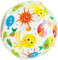 Мяч пляжный надувной пластмассовый (51 см; арт. 59040)