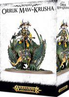 Warhammer Age of Sigmar. Ironjawz. Orruk Maw-Krusha (89-25)