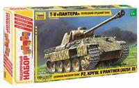 """Сборная модель """"Немецкий средний танк Т-V """"Пантера"""" (масштаб: 1/35; подарочный набор)"""