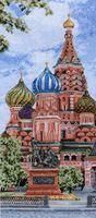 """Вышивка крестом """"Кремль"""""""