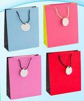 """Пакет бумажный подарочный """"Цветной"""" (в ассортименте; 24x33x10 см; арт. МС-3101)"""
