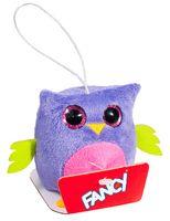 """Мягкая игрушка-брелок """"Глазастик. Сова"""" (8 см)"""