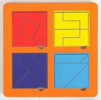 """Рамка-вкладыш """"Сложи квадрат. Уровень 3"""" (арт. 064205)"""