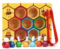 """Развивающая игрушка """"Пчёлки в сотах"""""""