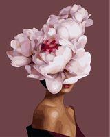 """Картина по номерам """"Мифология женский красоты. Интрига"""" (400х500 мм)"""