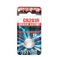 Батарейка CR2016 Maxell литиевая (2 шт.)