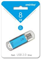 USB Flash Drive 8Gb SmartBuy V-Cut (Blue)
