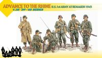 "Набор миниатюр ""Advance To The Rhine - U.S. 1st Army at Remagen 1945"" (масштаб: 1/35)"