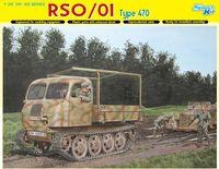 """Полногусеничный многоцелевой тягач """"RSO/01 Type 470"""" (масштаб:1/35)"""
