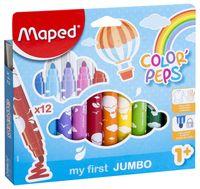 """Фломастеры """"Color Peps MAXI"""" (12 цветов)"""