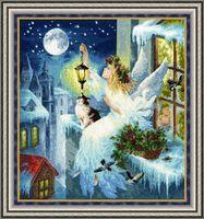 """Вышивка крестом """"Зимняя фея"""""""