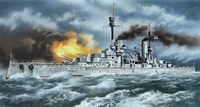 """Германский линейный корабль І Мировой войны """"Кронпринц Вильгельм"""" (масштаб: 1/350)"""
