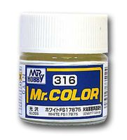 Краска Mr. Color (white, C316)