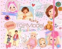 """Раскраска """"TOPModel. Fashion Kids"""" (+ наклейки)"""