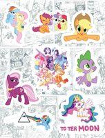 """Набор глянцевых наклеек №190 """"My Little Pony"""""""