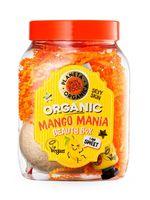 """Подарочный набор """"Mango mania"""" (бомбочка для ванны, гель для душа увлажняющий, маска для лица восстанавливающая)"""