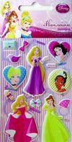 """Наклейки зефирные """"Disney. Принцессы 3"""""""