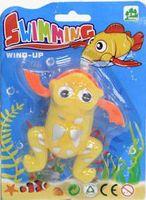 """Заводная игрушка для купания """"Желтый лягушонок"""""""