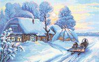 "Вышивка крестом ""Мороз и солнце"" (400x270 мм)"