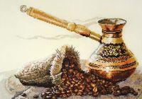 """Вышивка крестом """"Запах кофе"""" (330x220 мм)"""