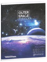 """Тетрадь полуобщая в клетку """"Outer Space"""" (48 листов; в ассортименте)"""