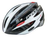 """Шлем велосипедный """"Road"""" (черно-бело-серый; р. S-M)"""