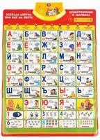 """Интерактивный плакат """"Весёлая азбука"""""""